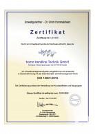 Zertifikat ISO 14001
